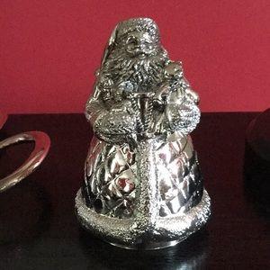 Reed & Barton Silver Plate Musical Santa